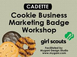 (Girl Scouts) Cookie Business Cadette Marketing Badge...