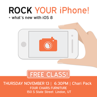 Rock your iPhone Class
