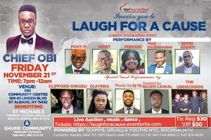 LAUGH FOR A CAUSE