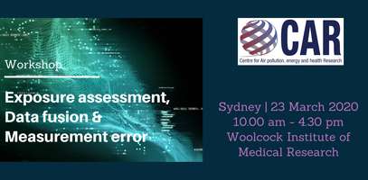 Online Workshop: Exposure assessment, data fusion and...