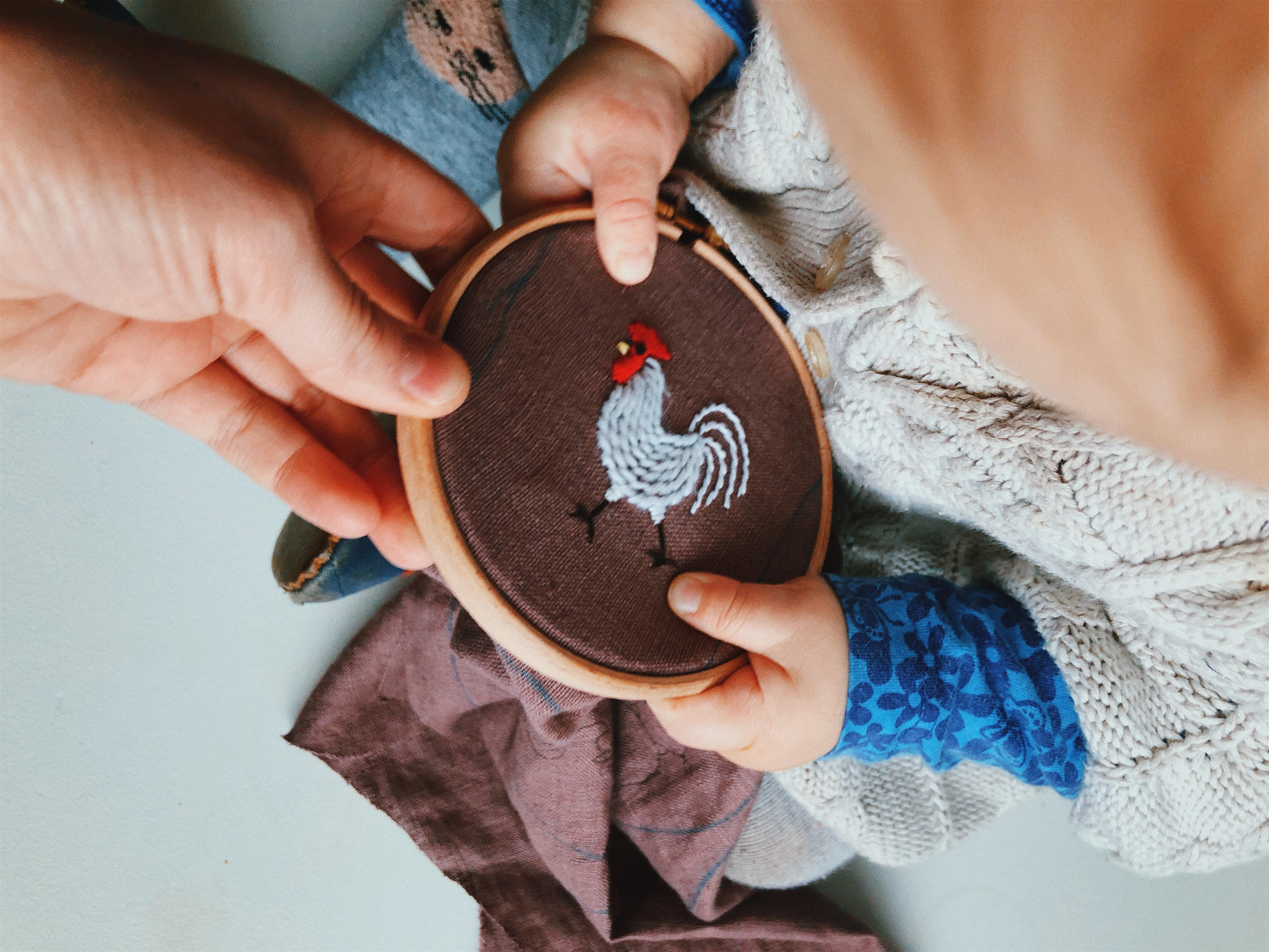 Intro to Embroidery with Kate Blattner