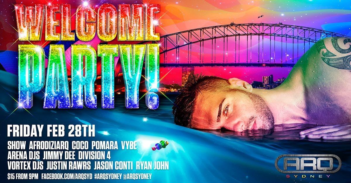 Mardi Gras 2020 Welcome Party - Arq Sydney