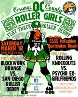 OC Roller Girls Flat Track RK vs PEG & Blockwork vs San...