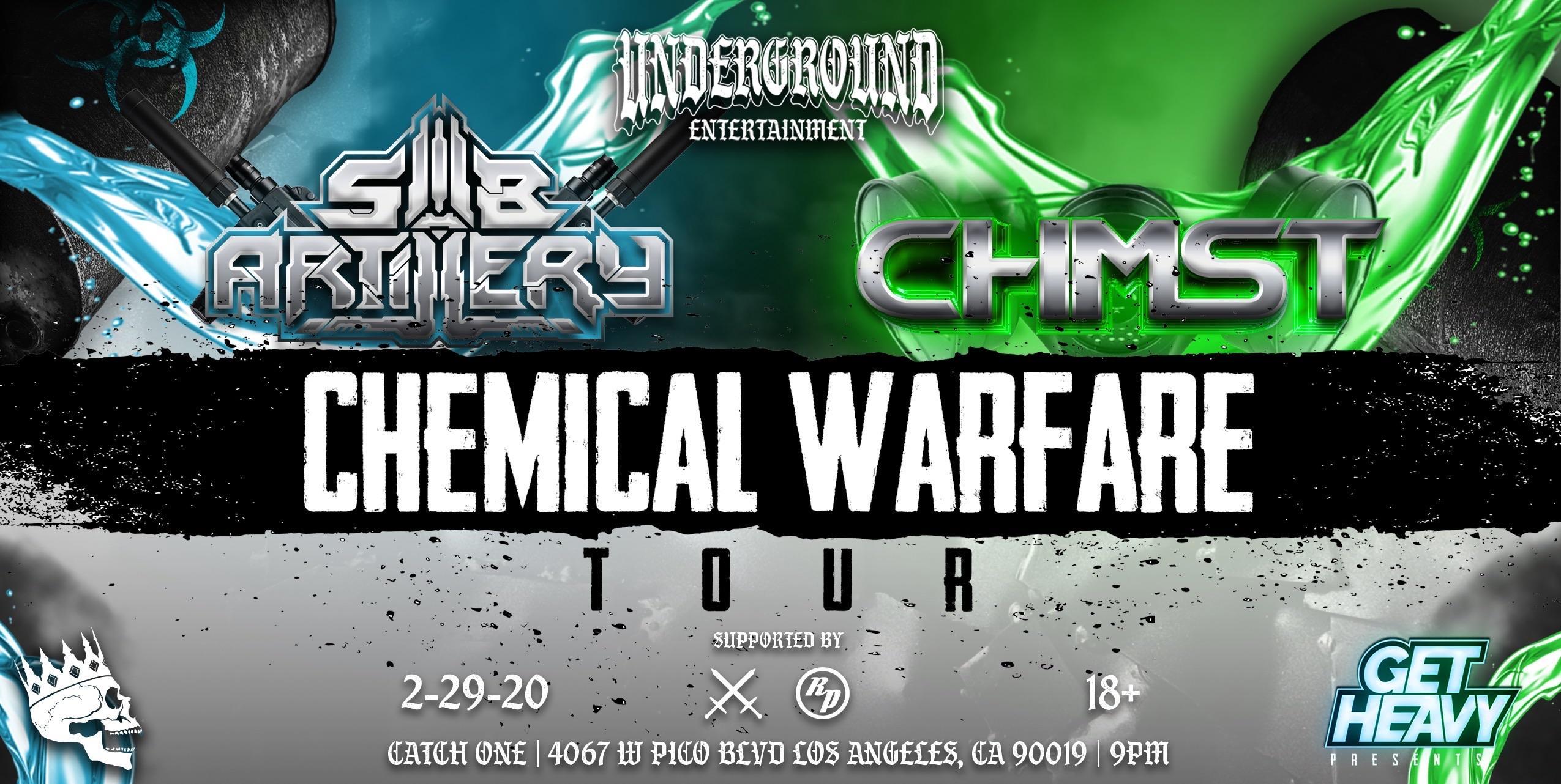 CHEMICAL WARFARE TOUR - SUB ARTILLERY / CHMST Feb. 29