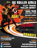 OC Roller Girls Jr's and Home Teams - Flat Track Roller Derby