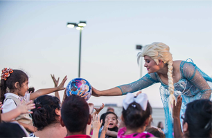 An Evening with the Ice Queen Family Night at...
