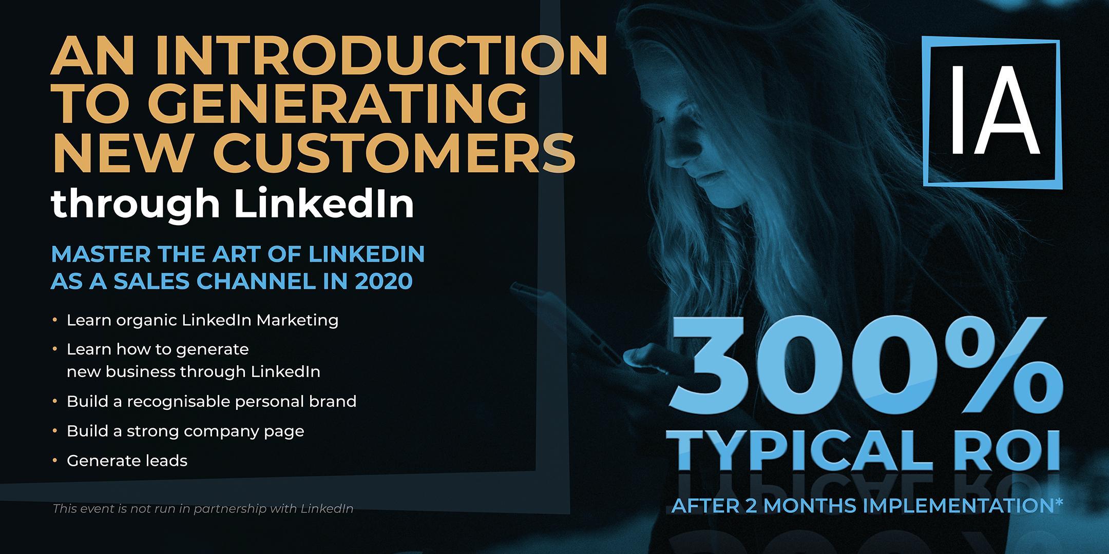 Winning New Business On LinkedIn - An Introduction
