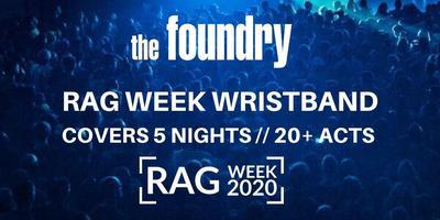 RAG WEEK WRISTBAND