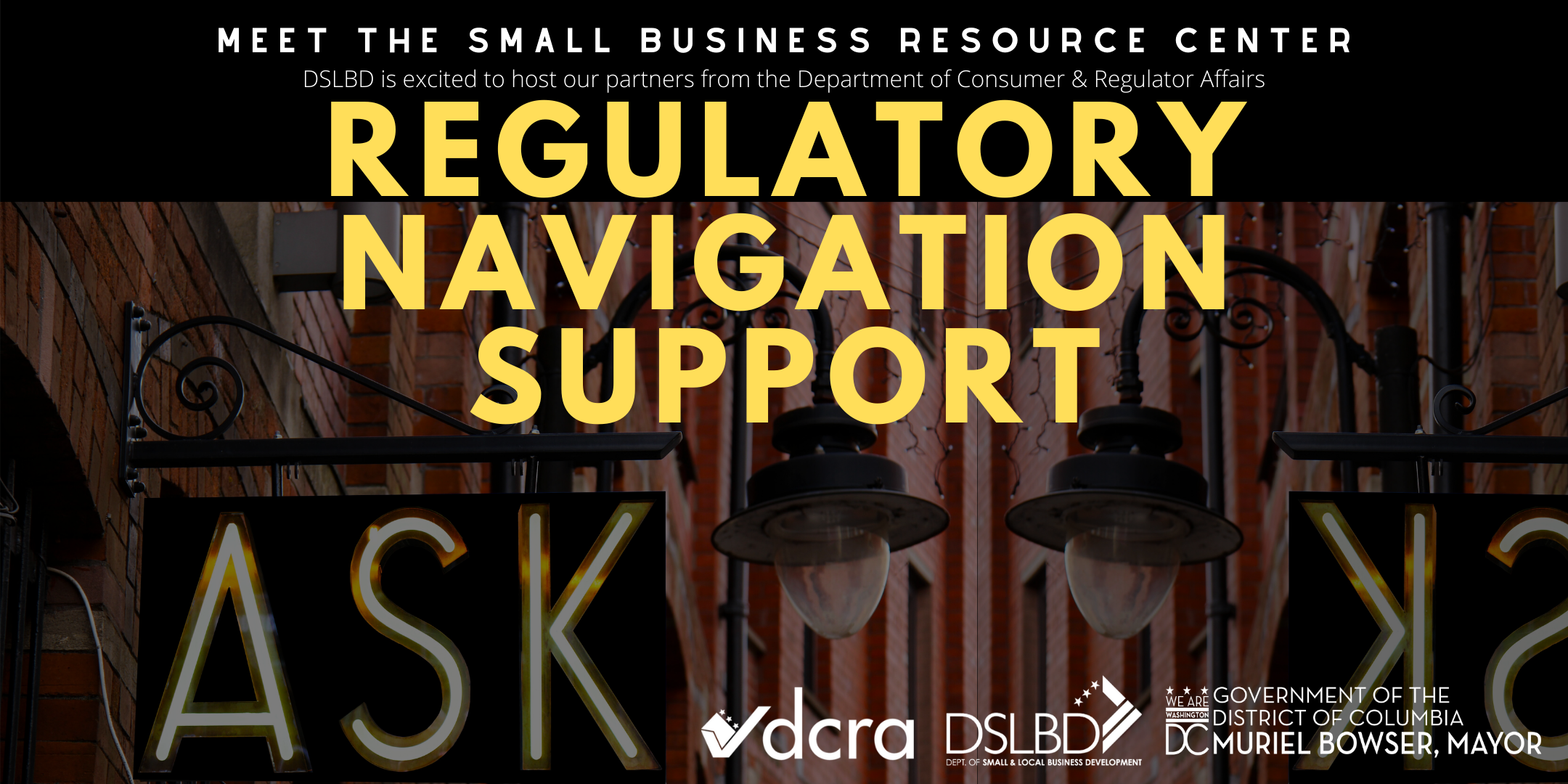 DCRA's Small Business Resource Center at DSLBD
