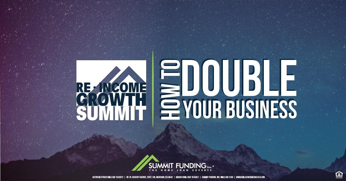 Real Estate Income Growth Summit 2020