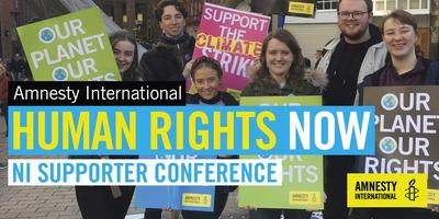 Human Rights Now, Amnesty International, NI Supporter...