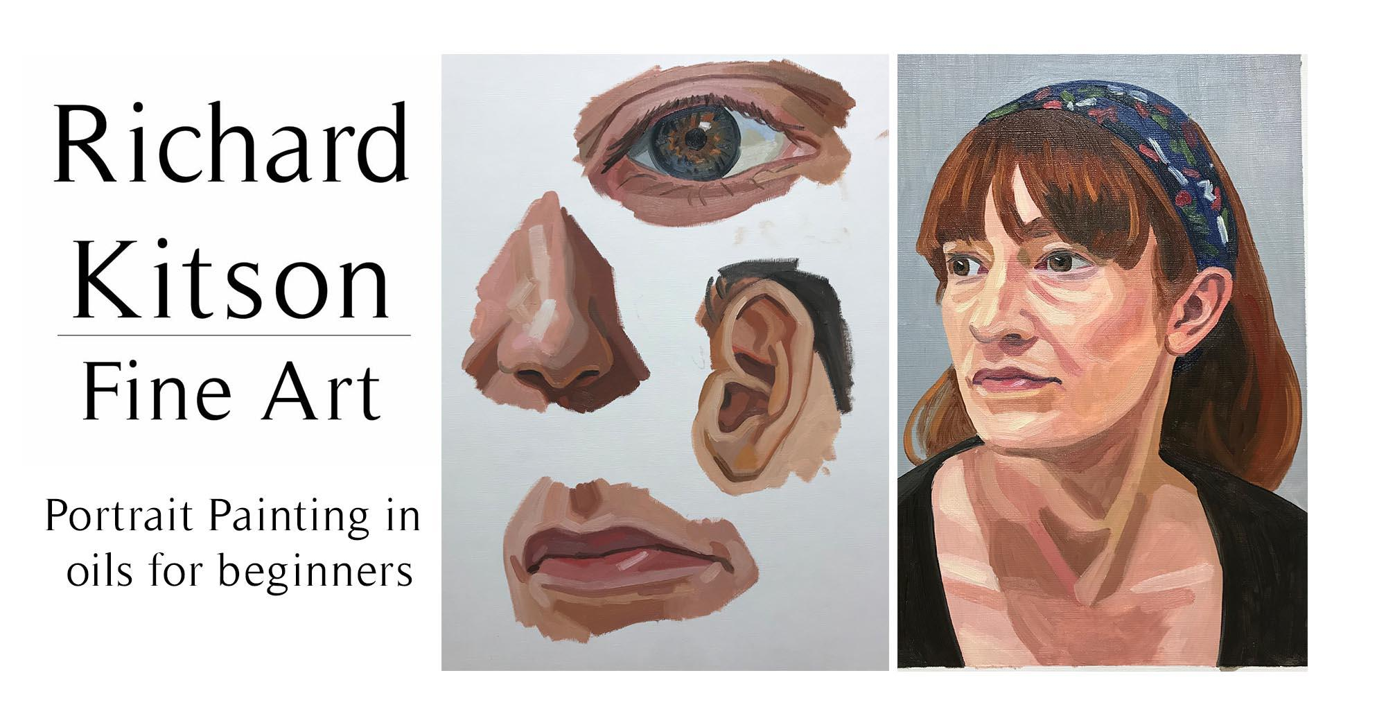 Portrait Painting in Oils for Beginners