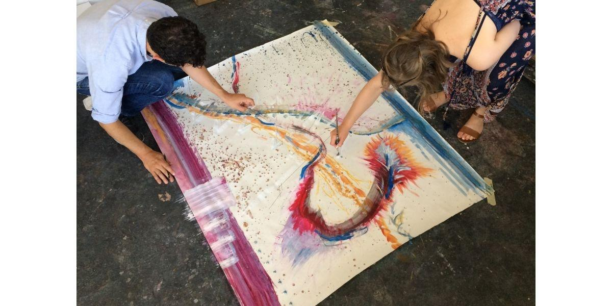 Expressive Painting Workshop (06-06-2020 starts at 1:00 PM)