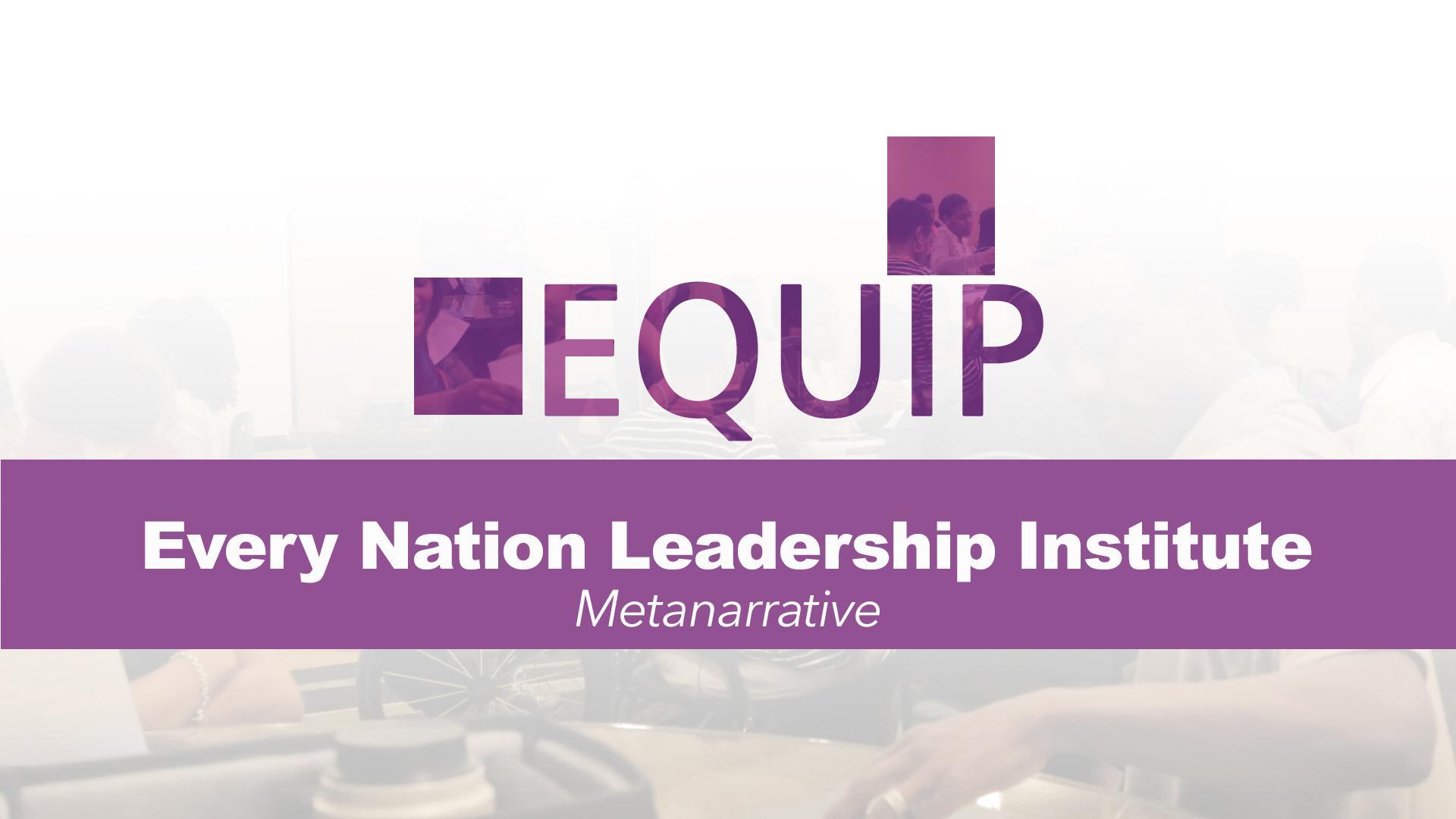 ENLI Year 2 - One Semester 2 Class (Metanarrative)