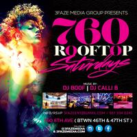 760 Saturdays - NYC Sexiest All-Season Enclosed Rooftop