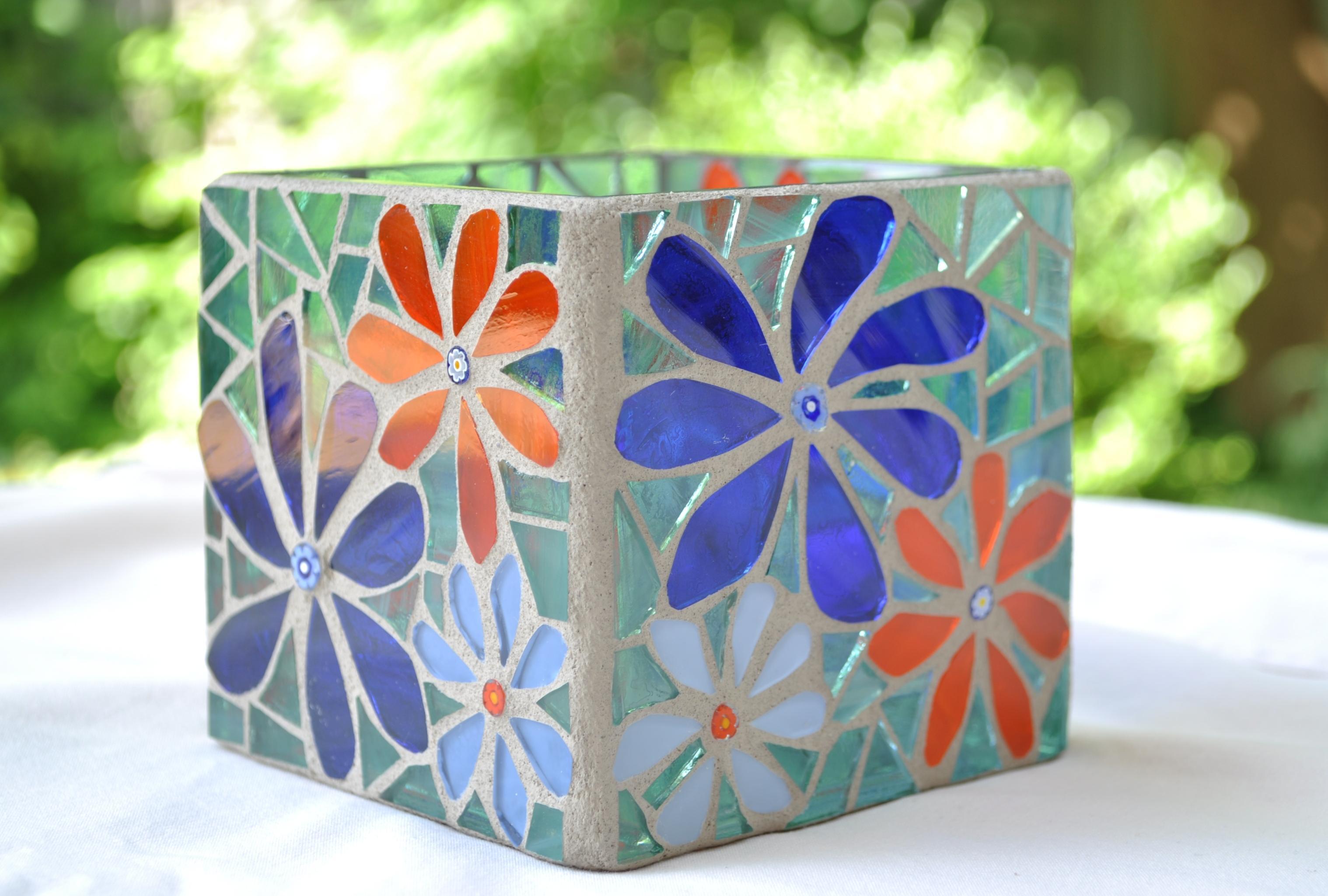 Mosaic Vase Series