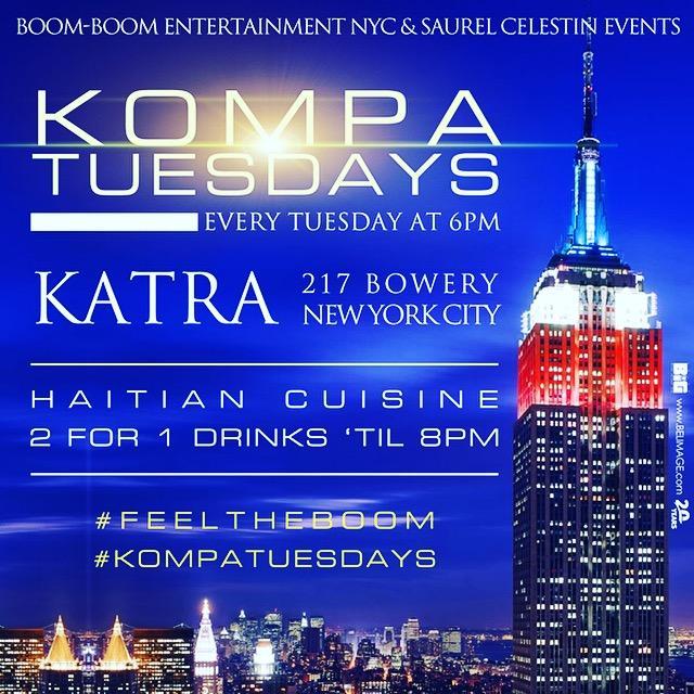 Kompa Tuesdays at Katra Lounge