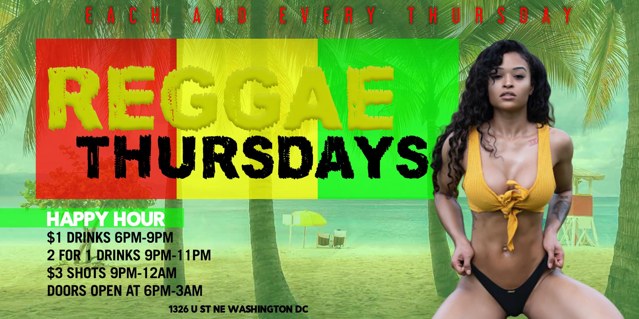 Reggae Thursdays at Pure Lounge