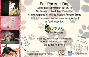 Wags for Warriors Pet Portrait Day