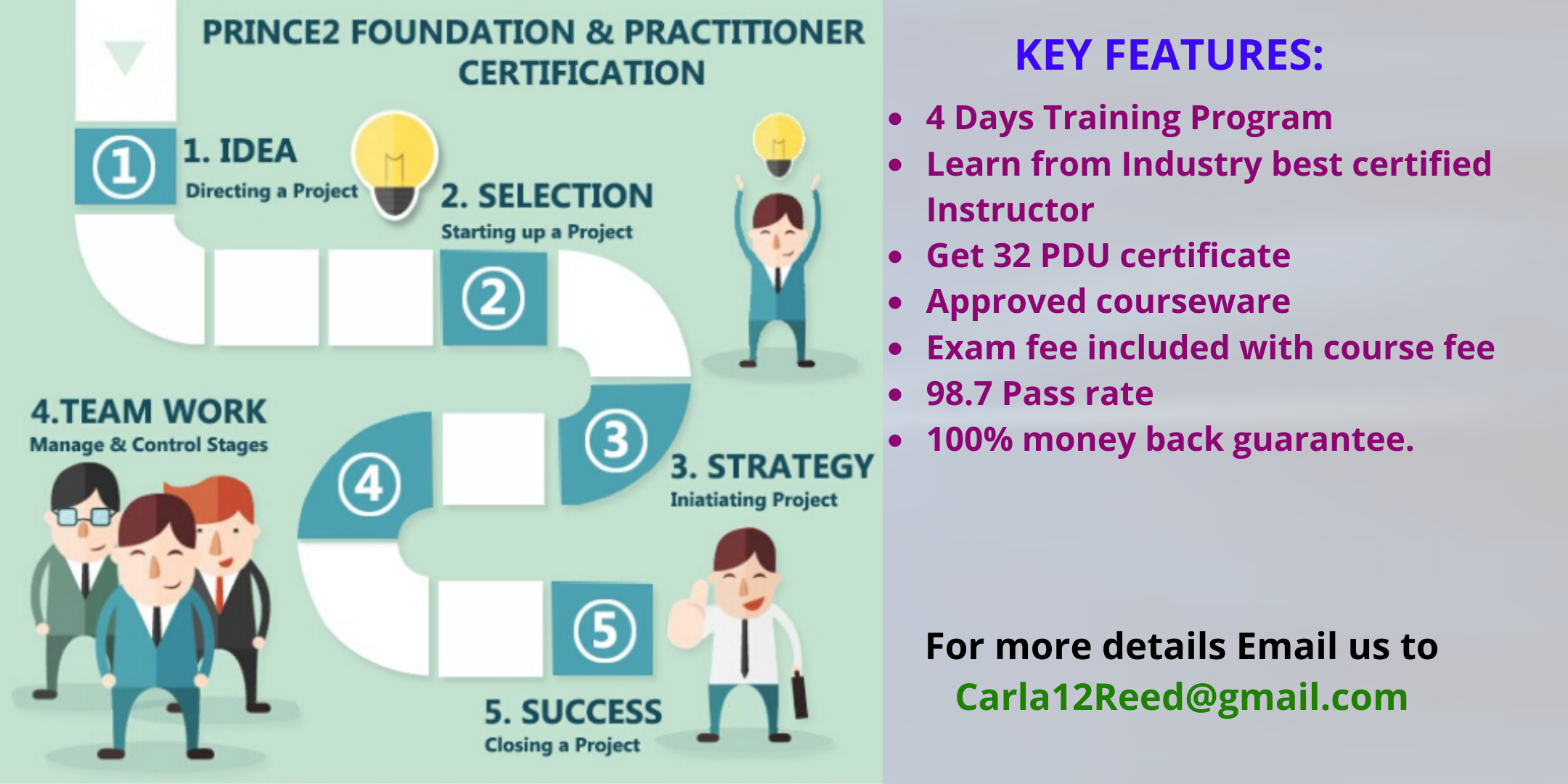 PRINCE2 Foundation And Practitioner Training In Reading, England