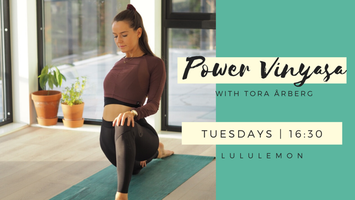 lululemon Oslo x Power Vinyasa - Tora Arberg