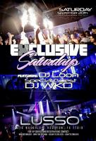 Exclusive Saturdays at Lusso Lounge