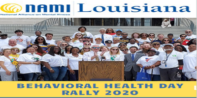 Behavioral Health Day Rally