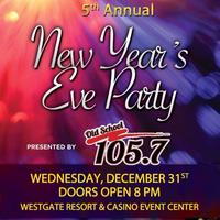 5th Annual New Years Eve Party @ WestGate Resort &...