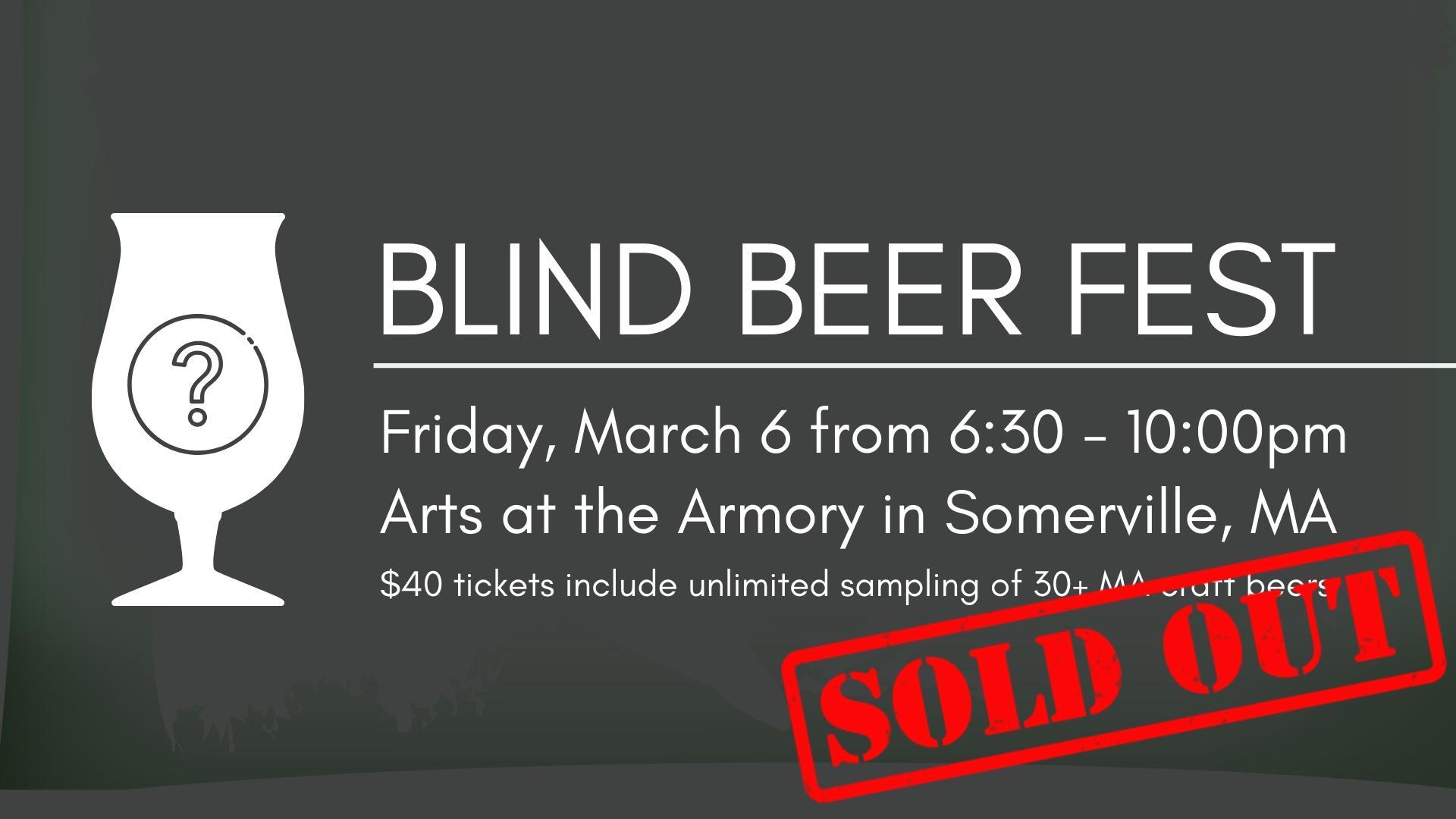 Blind Beer Fest - SOLD OUT!