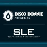 Disco Donnie Presents and SLE logo