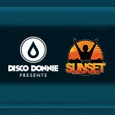 Disco Donnie Presents and Sunset Events  logo