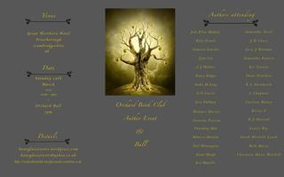 Orchard Book Club Author Event & Ball