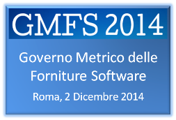 GMFS 2014 - GOVERNO METRICO FORNITURE SOFTWARE