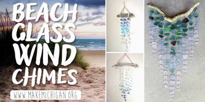 Beach Gl Wind Chimes Comstock Park