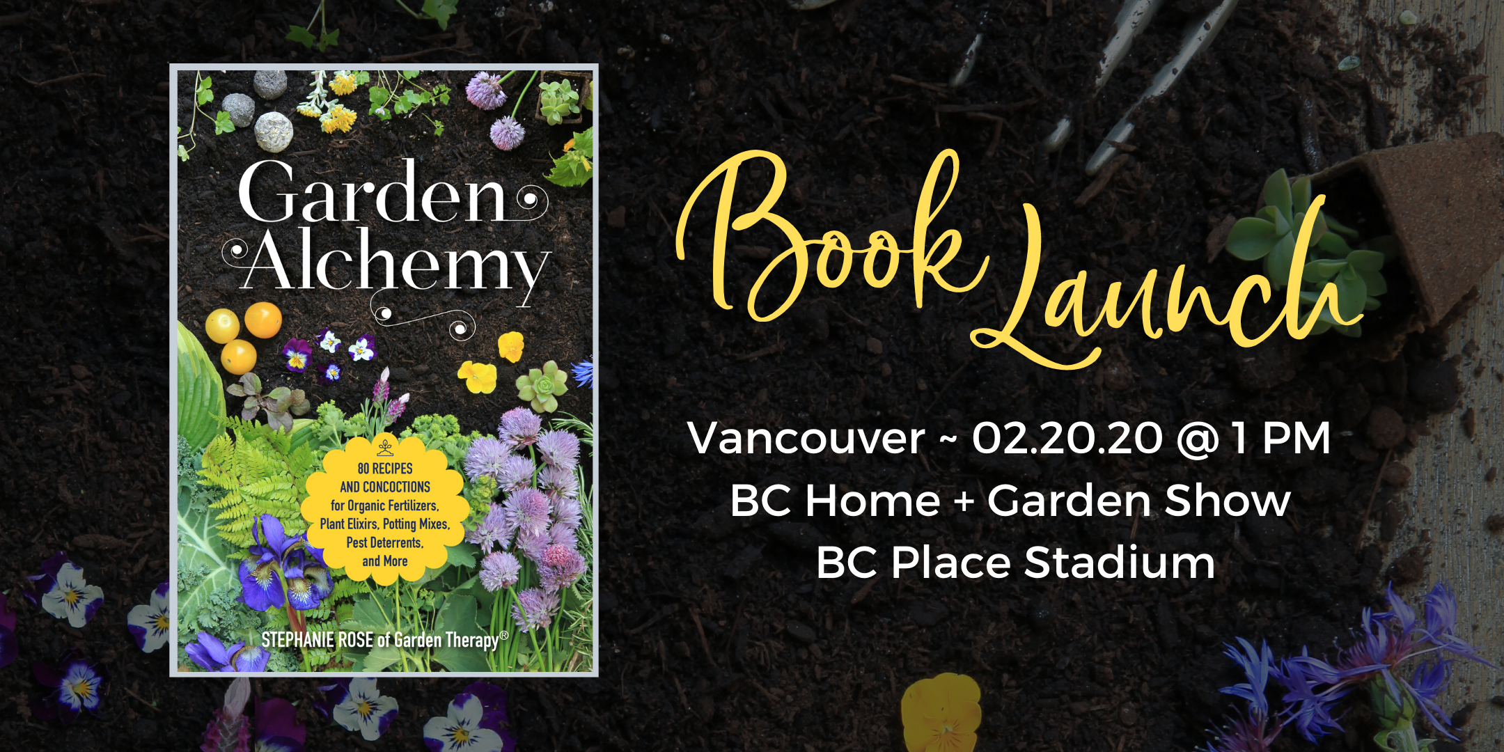 Garden Alchemy Book Launch