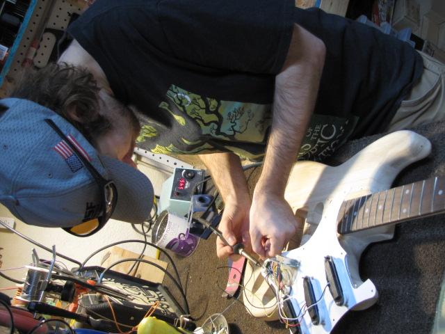 Build Your Own Guitar Workshop