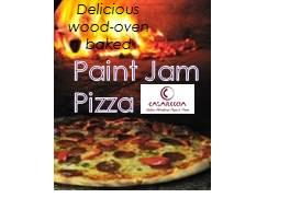 Pizza (& wine) order - Paint Jam night:Abstract Thurs...