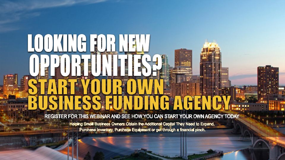 Start your Own Business Funding Agency Minneapolis MN