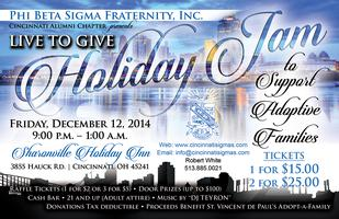Live to Give Holiday Jam, Presented by Phi Beta Sigma...