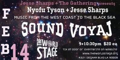 Thee World Stage presents *JESSE SHARPS AND THE...
