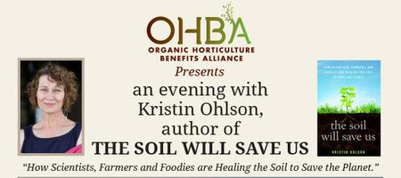 Kristin Ohlson 'the soil will save us'