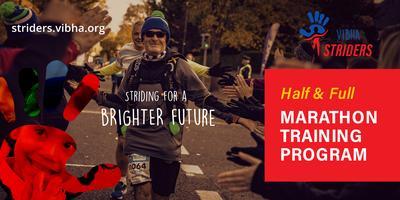 Vibha Striders Marathon Training Program 2020
