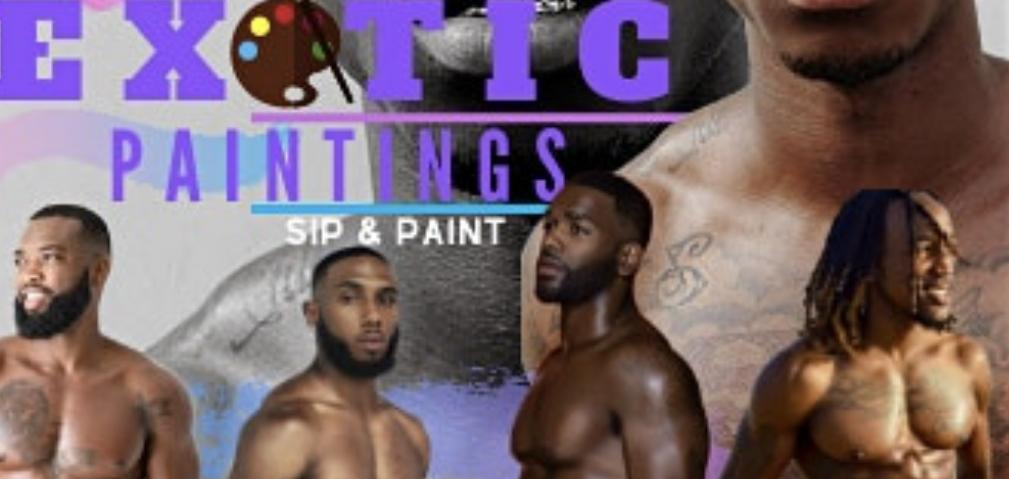 Exotic Paint & Sip - 8 MAR 2020