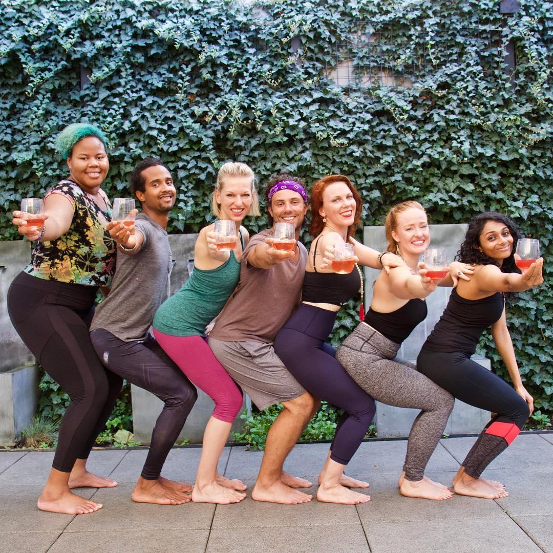Drunk Yoga® Dallas Presents: Wine n' Yoga at Virgin Hotels Dallas