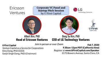 U First Corporate VC Panel + Startup Pitch Session