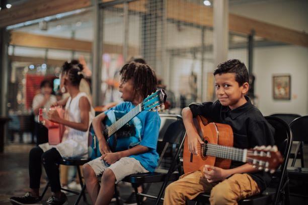 Free Guitar Lessons Weekly for Children