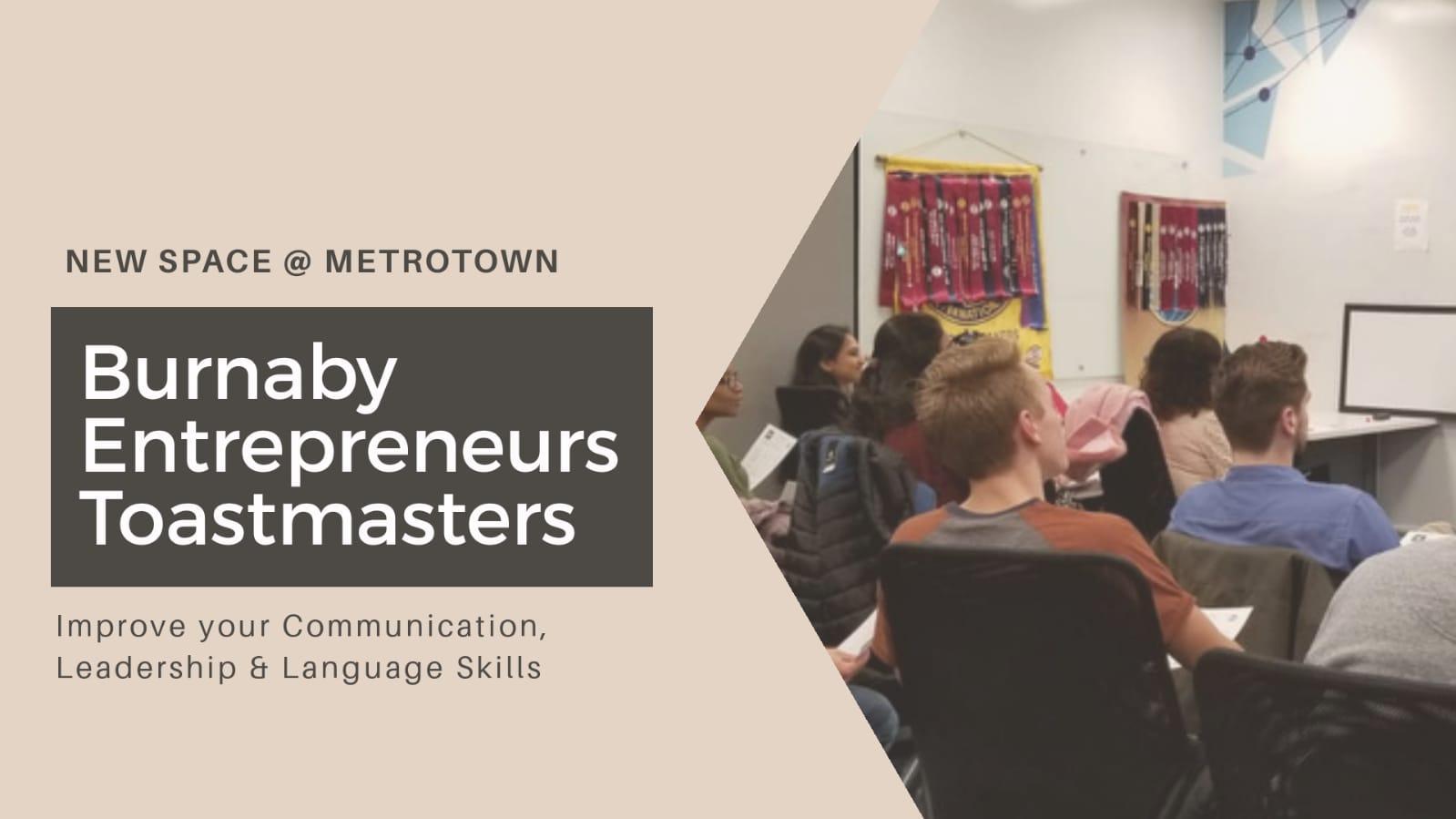 2020 Burnaby Entrepreneurs Toastmasters Weekly Meeting