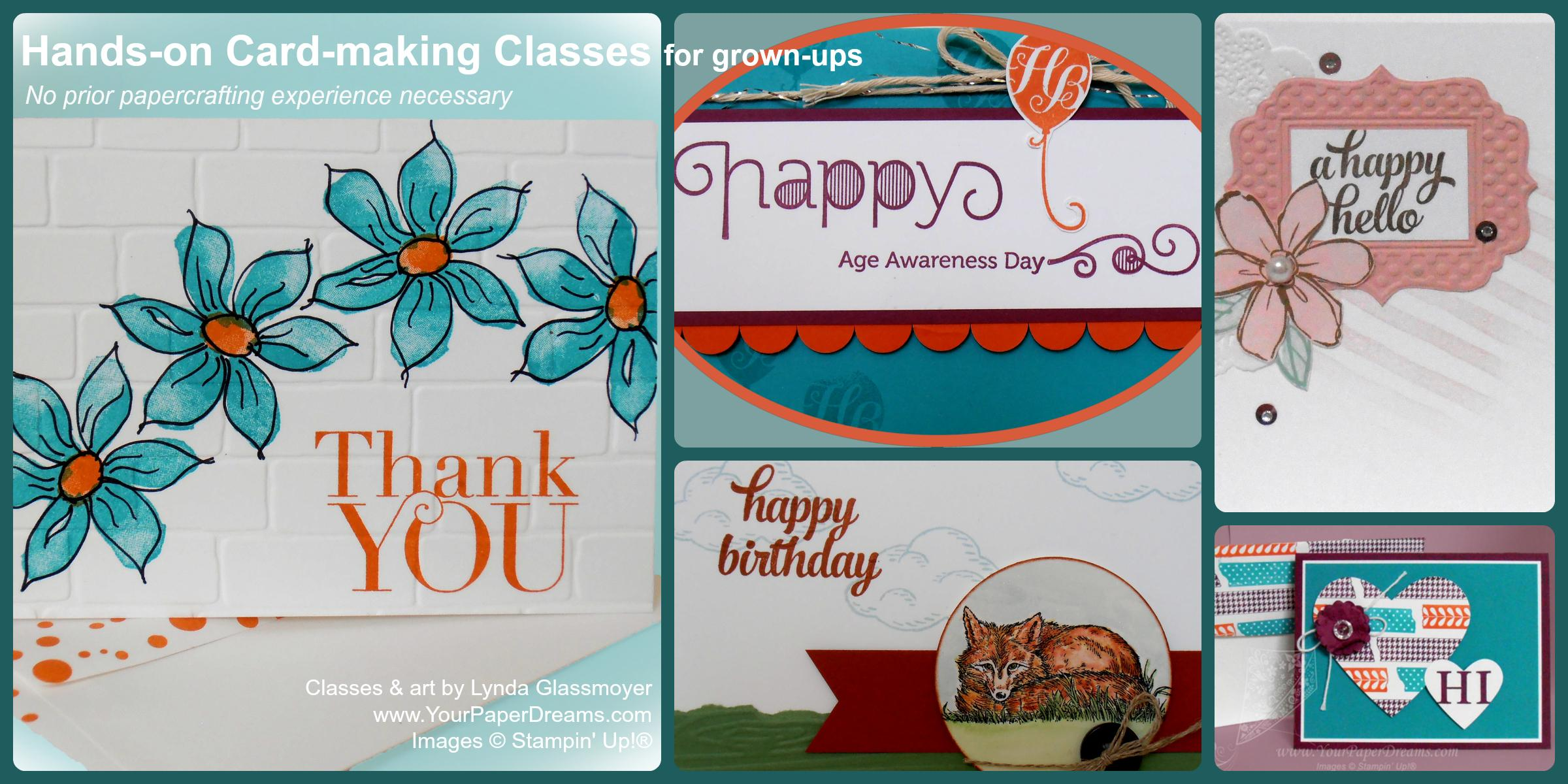 Monthly Card-Making Class - 2/25/2020 - Morning