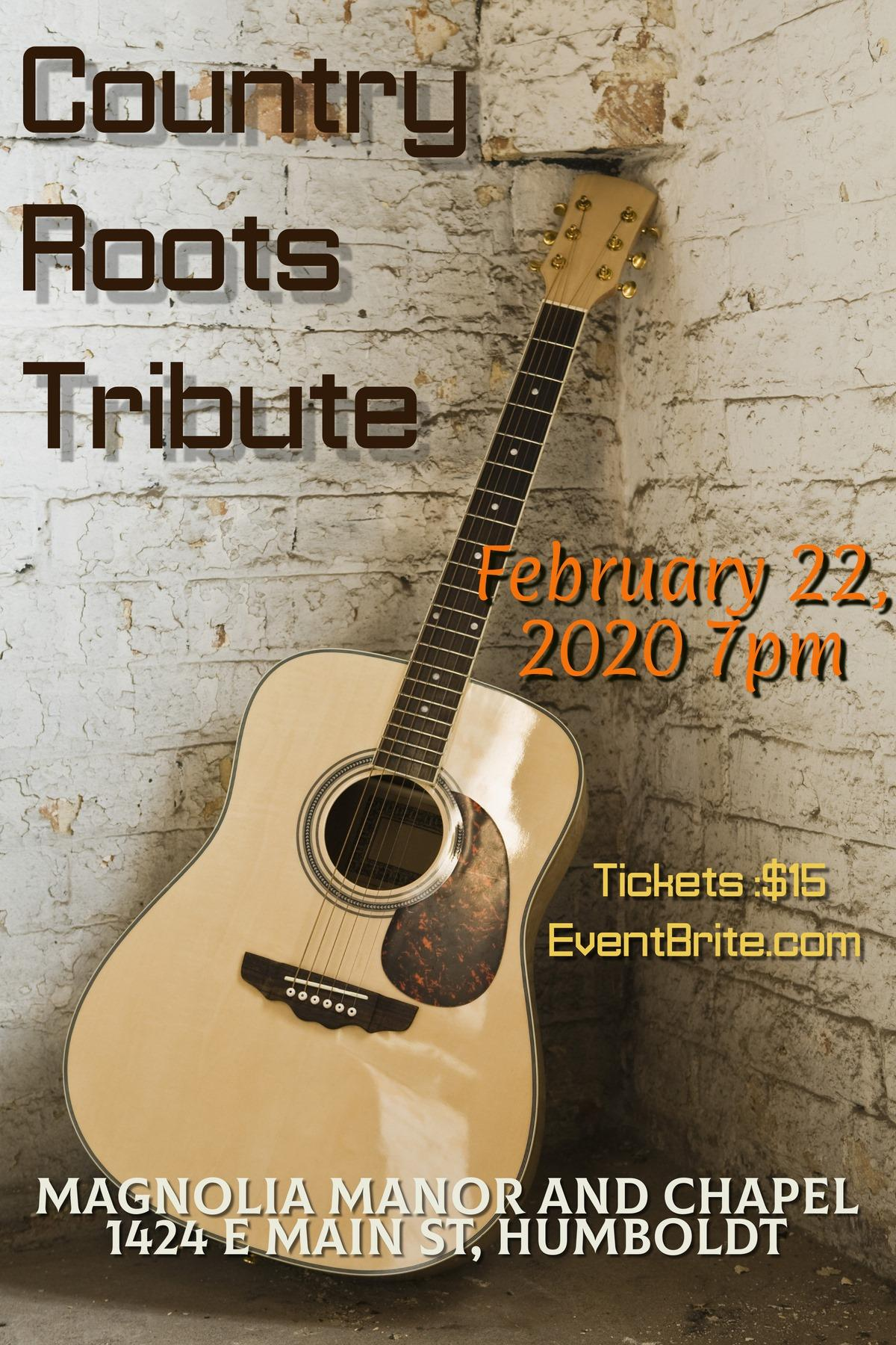 Country Roots Tribute - Merle Haggard & Johnny Cash