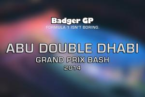 Badger's Abu Dhabi GP Bash